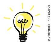 vector light bulb icon  idea...