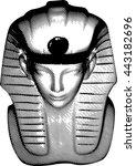 king statue   Shutterstock . vector #443182696