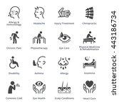 health conditions   diseases  ...   Shutterstock .eps vector #443186734