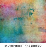 grunge abstract background | Shutterstock . vector #443188510
