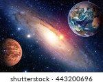 Space Planet Galaxy Milky Way...