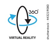 virtual reality  icon and symbol