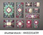 big templates set. business... | Shutterstock .eps vector #443231659