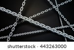 Chain Background  Vector Art...