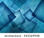 blue background with rectangle... | Shutterstock . vector #443269948
