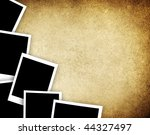photos on vintage background | Shutterstock . vector #44327497
