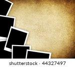 photos on vintage background | Shutterstock . vector #44327497