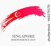 vector illustration banner or... | Shutterstock .eps vector #443279170