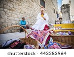 dubrovnik  croatia oct. 25 a... | Shutterstock . vector #443283964