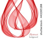 abstract red background with