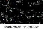 glitch random digital signal...   Shutterstock . vector #443288059