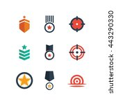 military war soldier icon... | Shutterstock .eps vector #443290330