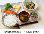 Breakfast Japanese Food