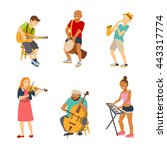 Musician Cartoon Characters...