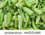 Small photo of Food background of fresh cubanella pepper