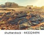 Desert Landscape Of Wadi Rum I...