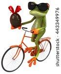 fun frog | Shutterstock . vector #443349976
