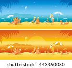 Sun Protection Banner Set With...