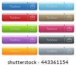 set of toolbox glossy color... | Shutterstock .eps vector #443361154