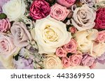 wedding flower | Shutterstock . vector #443369950