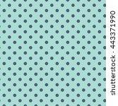 vector seamless modern stylish... | Shutterstock .eps vector #443371990