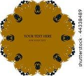 vector flower background   Shutterstock .eps vector #44338489
