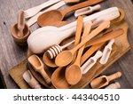 Some Wooden Kitchen Utensil In...
