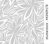 vector seamless pattern. modern ... | Shutterstock .eps vector #443409178