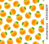seamless pattern with a lot of... | Shutterstock .eps vector #443418859