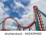 the details of the roller... | Shutterstock . vector #443439400