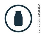 vector illustration of milk...