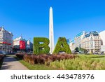 buenos aires  argentina   april ... | Shutterstock . vector #443478976