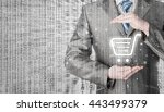 consumer protection concept.... | Shutterstock . vector #443499379