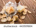 aromatherapy. spa stuff | Shutterstock . vector #443509804
