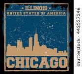 Chicago City Concept. Logo....