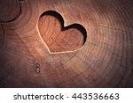 Wood Carving  Symbol Of Love ...