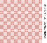 checkered background. | Shutterstock .eps vector #443571610
