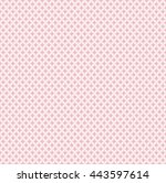 seamless knitted pattern... | Shutterstock .eps vector #443597614
