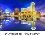 Cityscape Of Macao At Night....