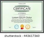 certificate diploma border