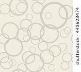 vector seamless pattern. modern ... | Shutterstock .eps vector #443623474