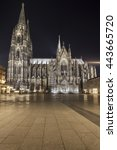 Small photo of The Cathedral of Cologne, Cologne, North Rhine-Westphalia, Germany, Europe