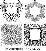 vector decorative design...   Shutterstock .eps vector #44372701
