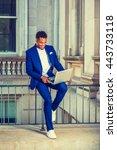 african american college... | Shutterstock . vector #443733118