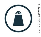 vector illustration of salt icon