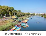 Colorful Boats At Yarkon River...
