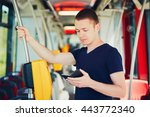 everyday life and commuting to... | Shutterstock . vector #443772340
