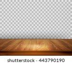background with wooden floor... | Shutterstock .eps vector #443790190