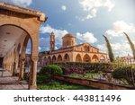 agios mamas  greek orthodox... | Shutterstock . vector #443811496