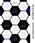 Vector Calendar 2017 With An...